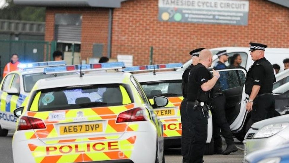Police condemn 'appalling' violence at cycle festival