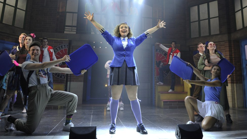 Carrie Hope Fletcher in Heathers