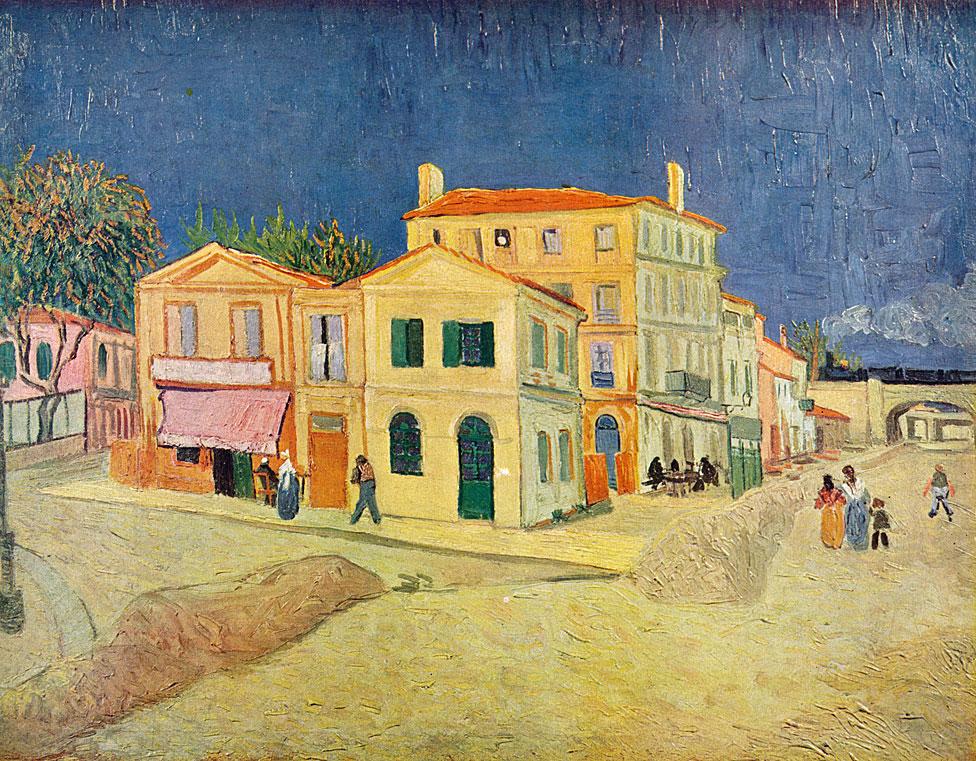 """""""La casa amarilla"""", de Vincent van Gogh"""