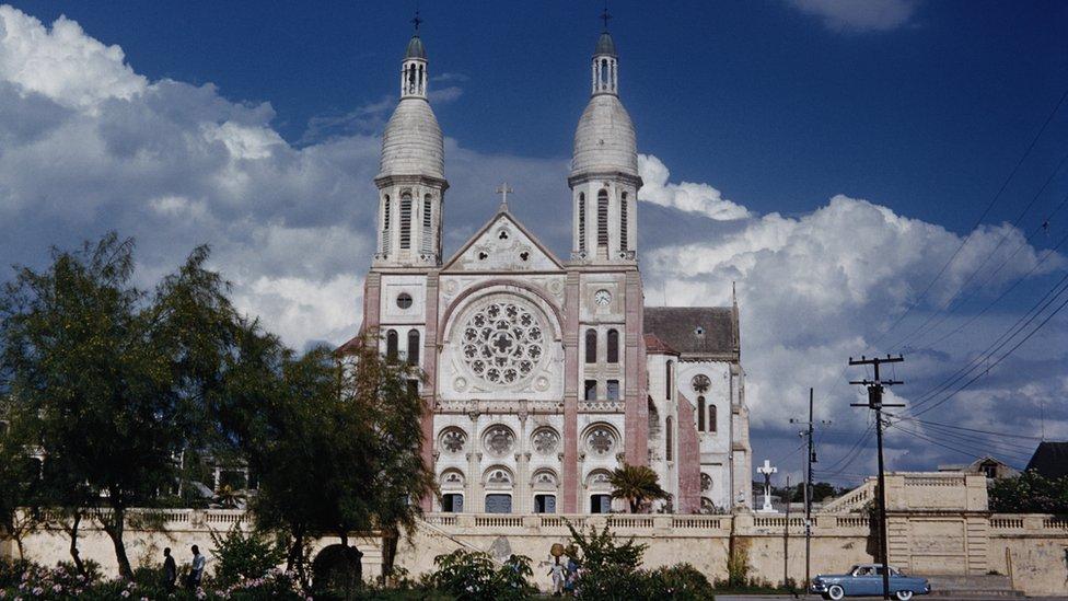 Catedral en 1965