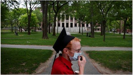 哈佛大學改成以網絡授課