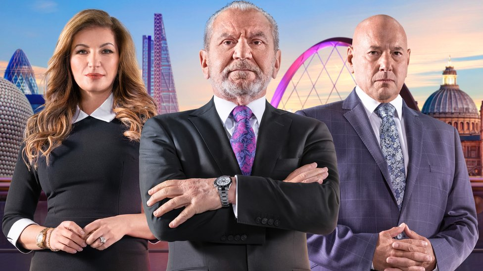 Baroness Brady, Lord Sugar and Claude Littner