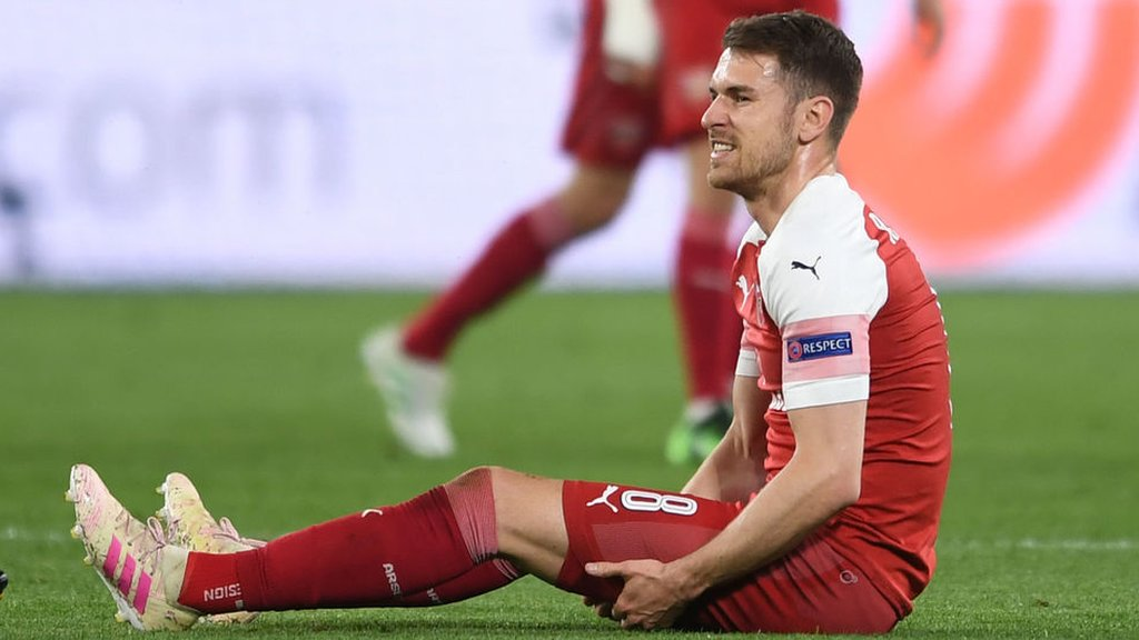 Aaron Ramsey: Arsenal midfielder could return in 'two to three weeks'