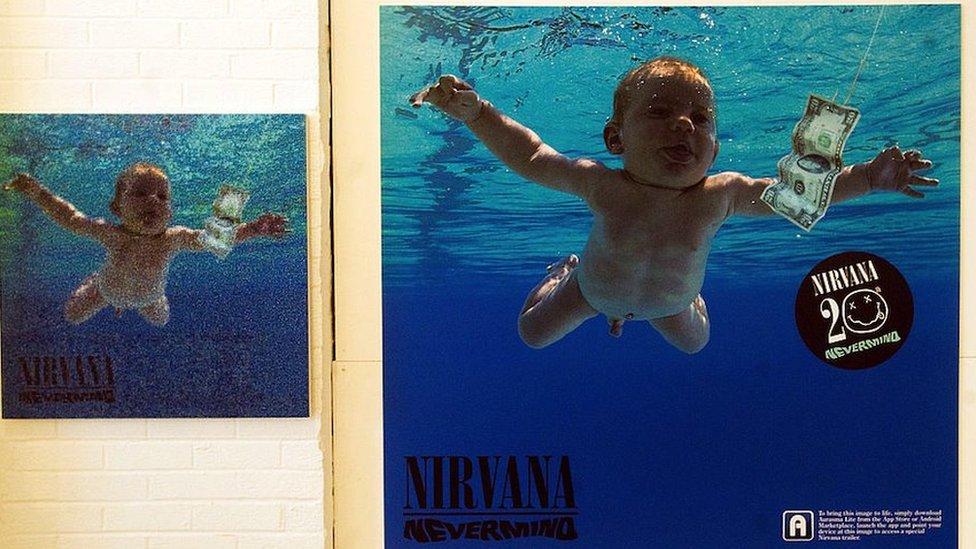 """Omot albuma """"Nevermind"""" Nirvane"""