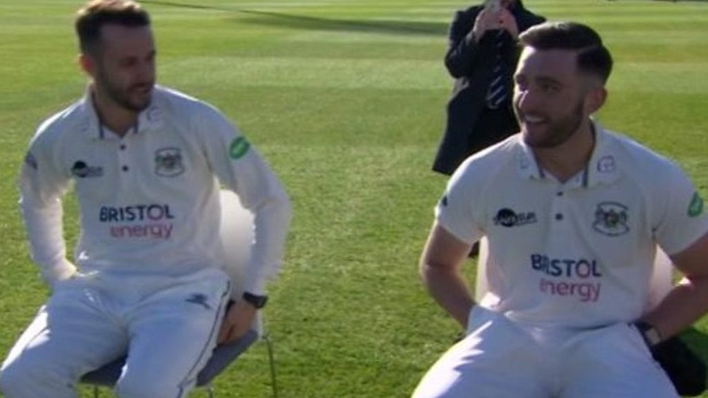 Jack and Matt Taylor: Gloucestershire's brothers on new County Championship season