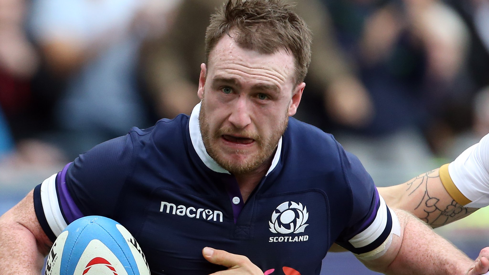 Stuart Hogg: Exeter winger Alex Cuthbert excited by Scotland full-back's signing