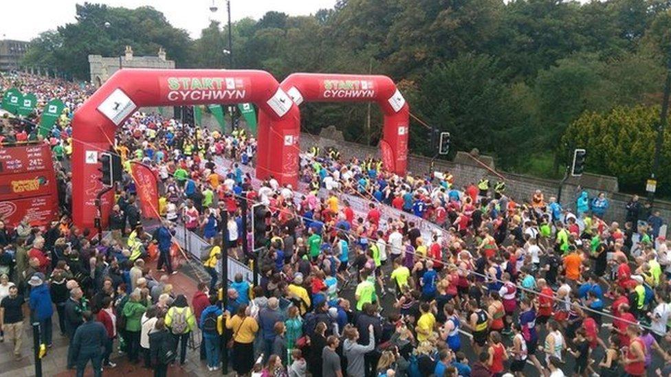 Cardiff half marathon 2014
