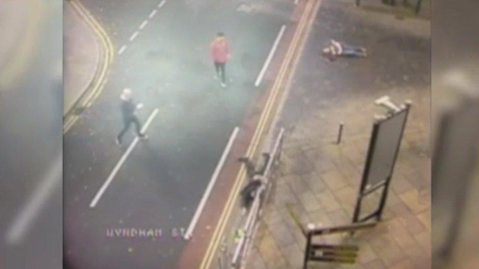'Callous' drink-driver ran over two men in Bridgend