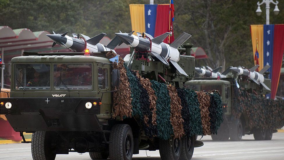 Sistema de defensa antiaérea de Venezuela