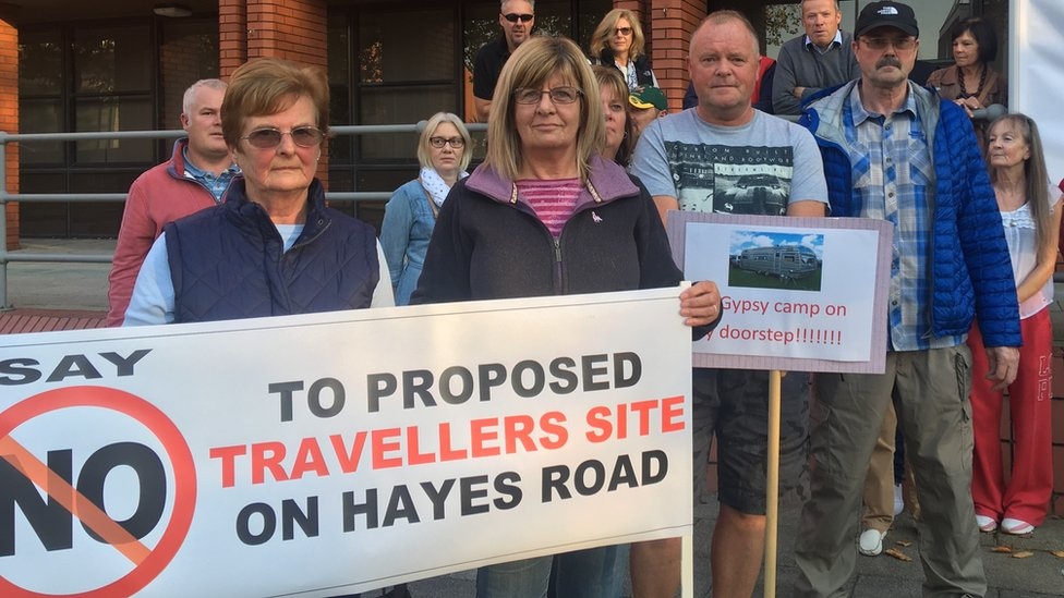 Sully traveller site plan rejected after objections