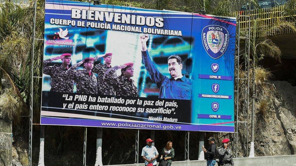 Presiden Nicolas Maduro.