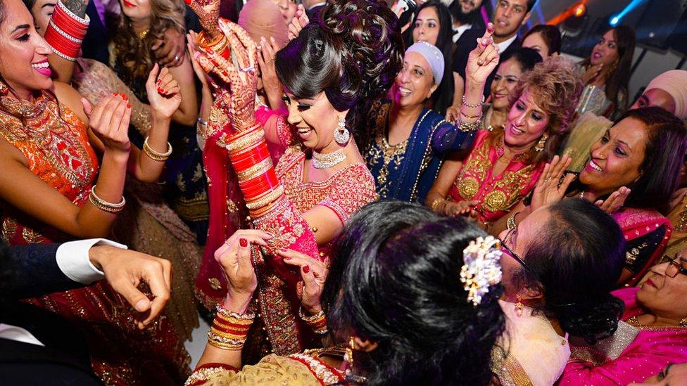 Matrimonio Sikh en Londres.