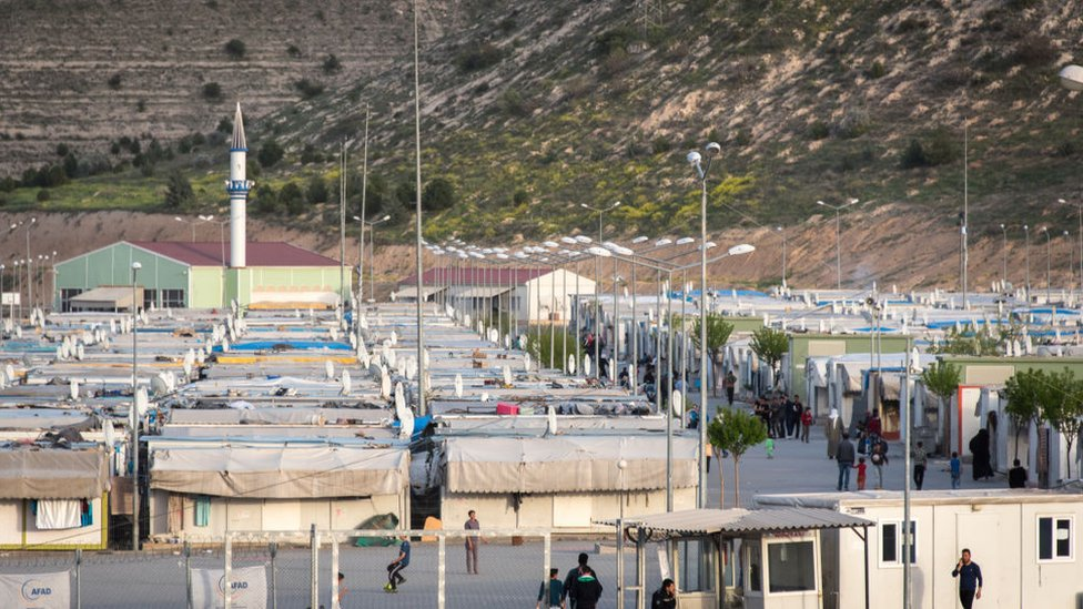 The Nizip 2 refugee camp in Turkey houses Syrian refugees