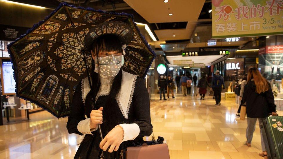Persona en Taiwán