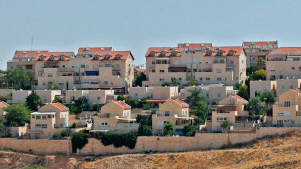 Se estima que en los asentamientos israelíes en Cisjordania viven unos 400.000 colonos.