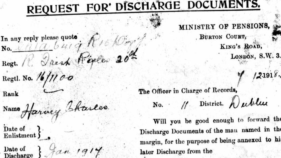 Belfast father's WWI letter may have saved son's life