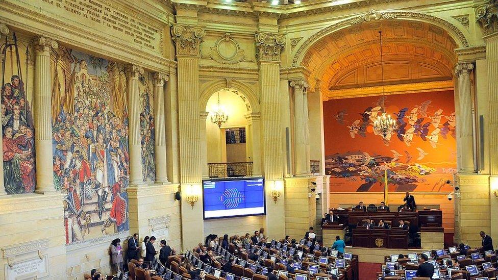 Парламент Колумбії