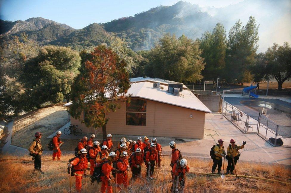 Vatrogasci u Malibuu