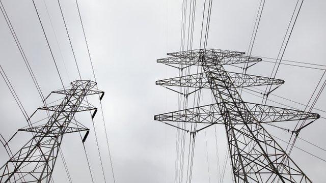 Tendido eléctrico en Texas