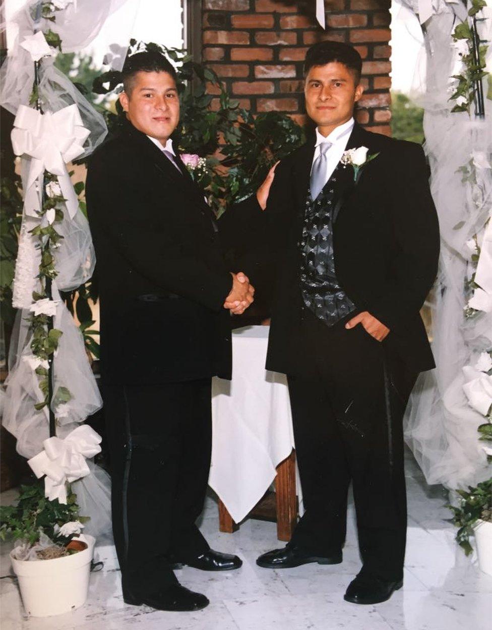 Edgar and Alcides Moreno
