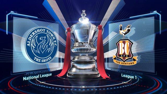 Highlights: Aldershot 0-0 Bradford City