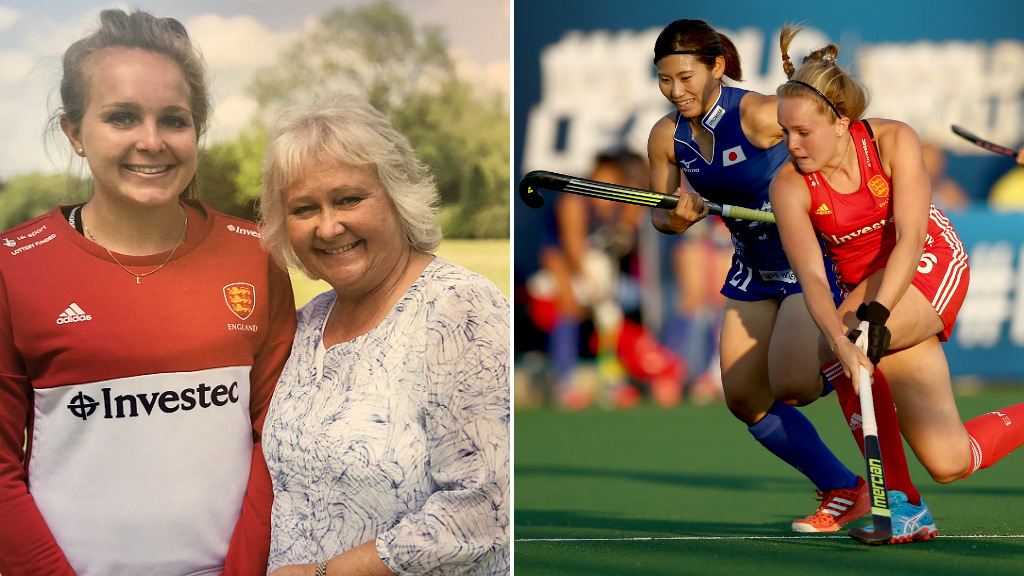 Emily Defroand: England hockey player's debt to mother Gill