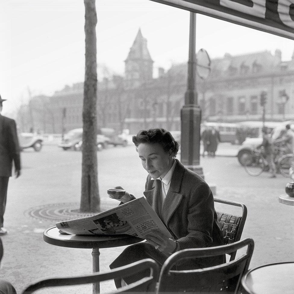 1956年巴黎街頭