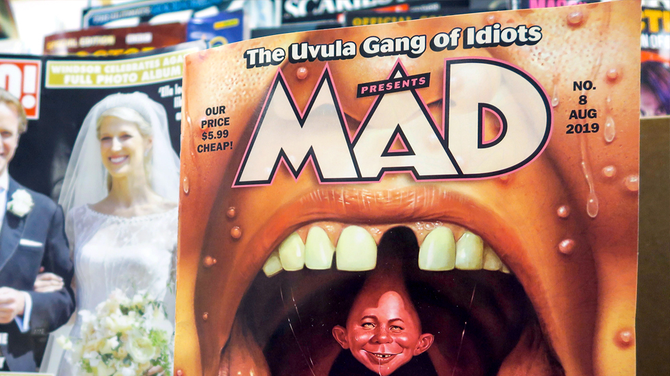 An image of Mad Magazine