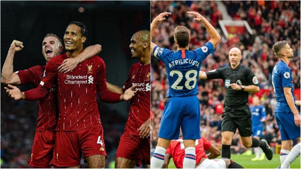 استهل ليفربول مبارياته في الدوري الانجليزي الممتاز بالفوز فيما استهلها تشيلسي بالخسارة