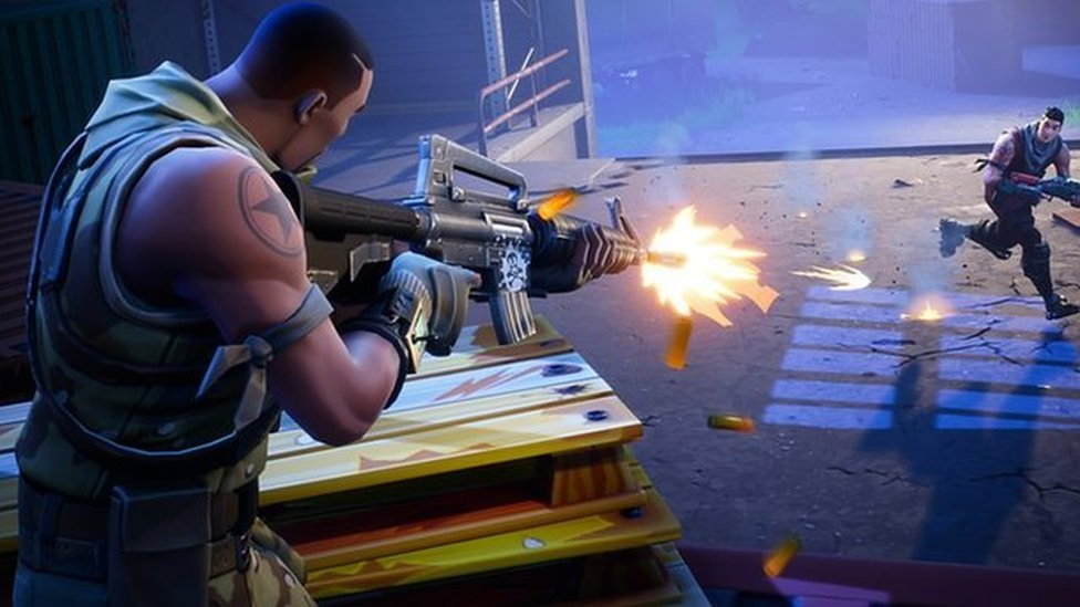 Big Pot Fortnite Animation 100m Prize Fund Offered For Fortnite Game Play Bbc News