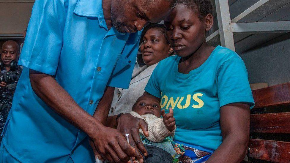 أطفال في ملاوي، كما تظهر الصورة هنا، كانوا جزءا من برنامج تجريبي