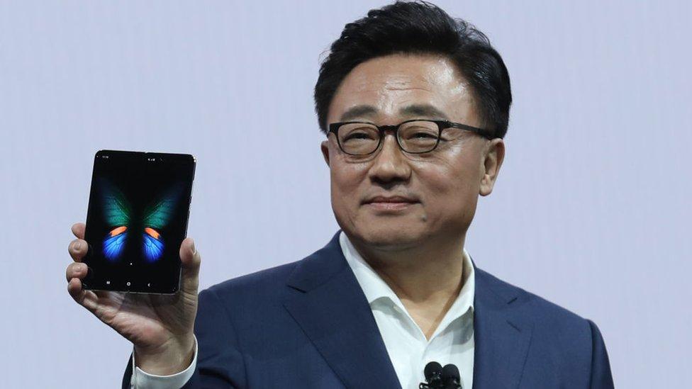 Presentación de los teléfonos Galaxy
