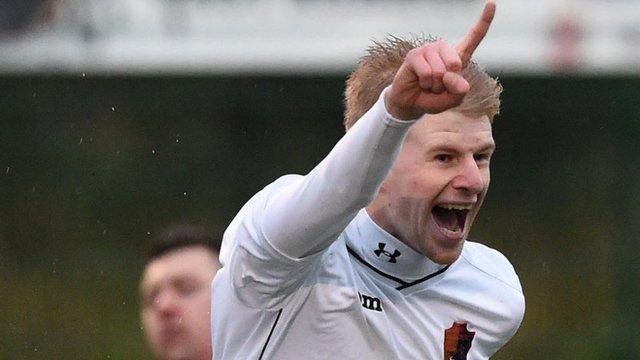 East Kilbride forward Jack Smith