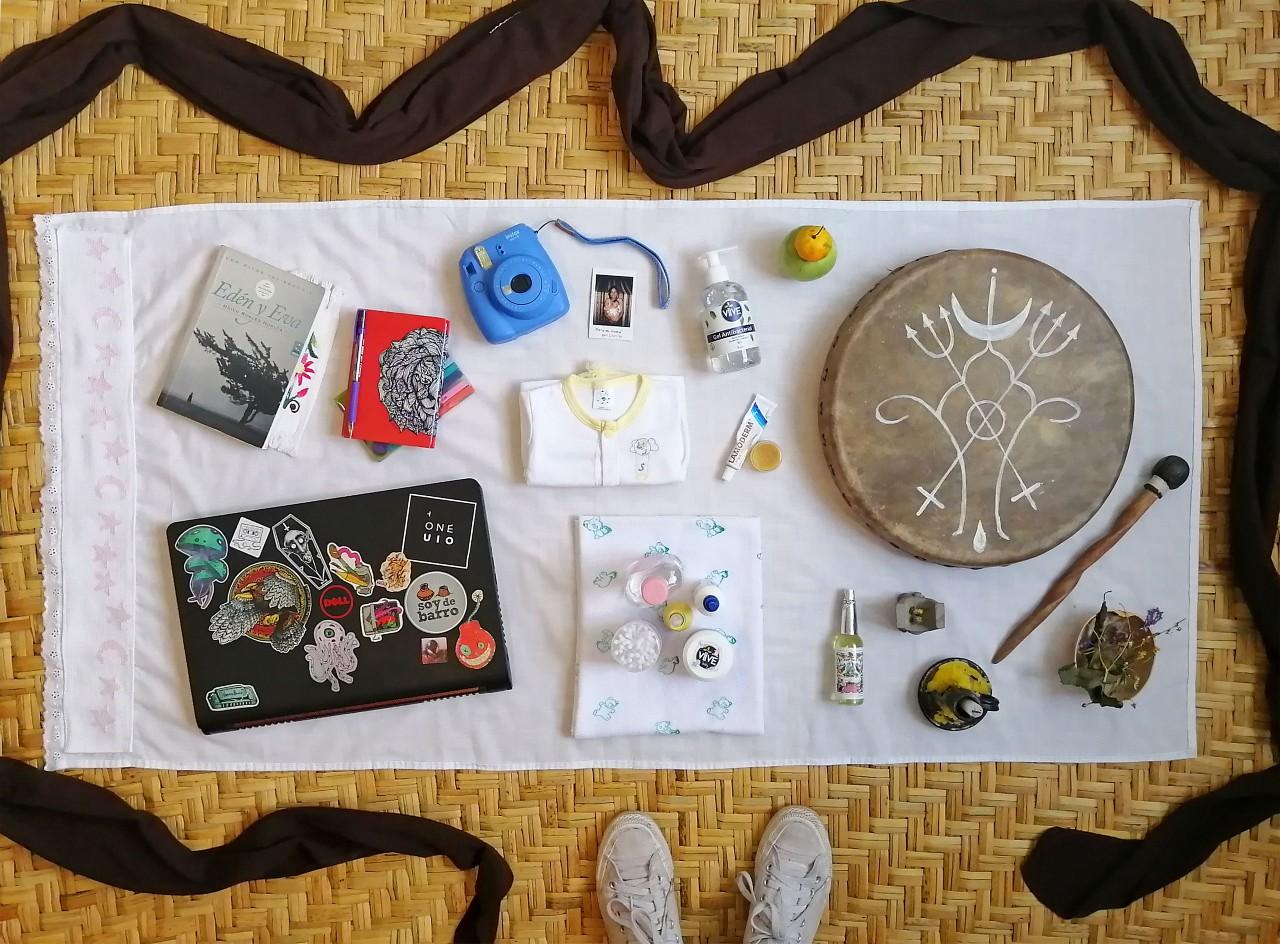 Lockdown essentials by María Belén Morales, Ecuador
