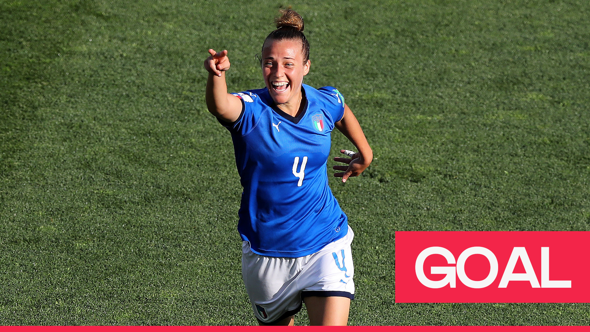 Women's World Cup 2019: Aurora Galli scores Italy's second with a powerful effort from outside the box