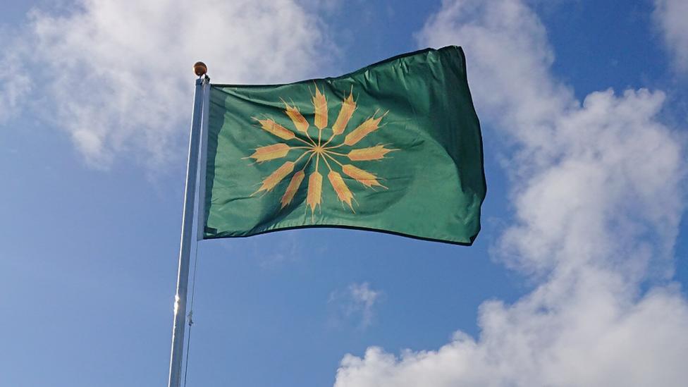 Tiree flag