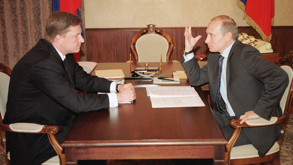Vladimir Chernukhin with Vladimir Chernukhin