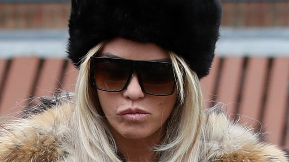 Katie Price denies being abusive outside West Sussex school