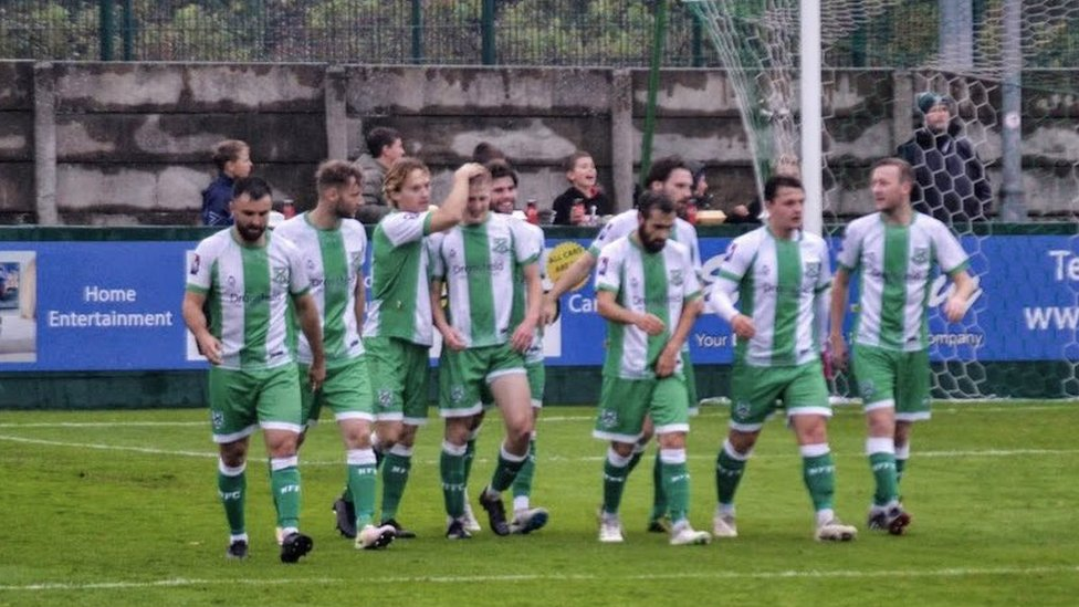 North Ferriby players