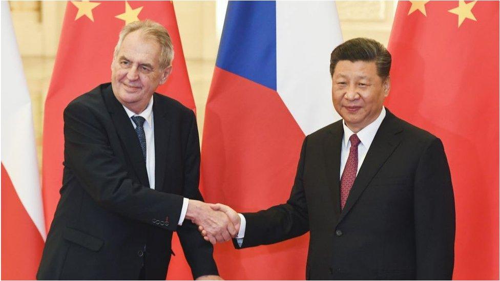 捷克總統澤曼長期與中國關係良好