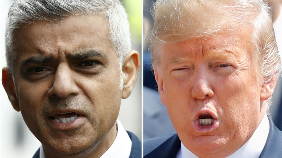 Дональд Трамп обрушился с критикой на мэра Лондона из-за волны убийств