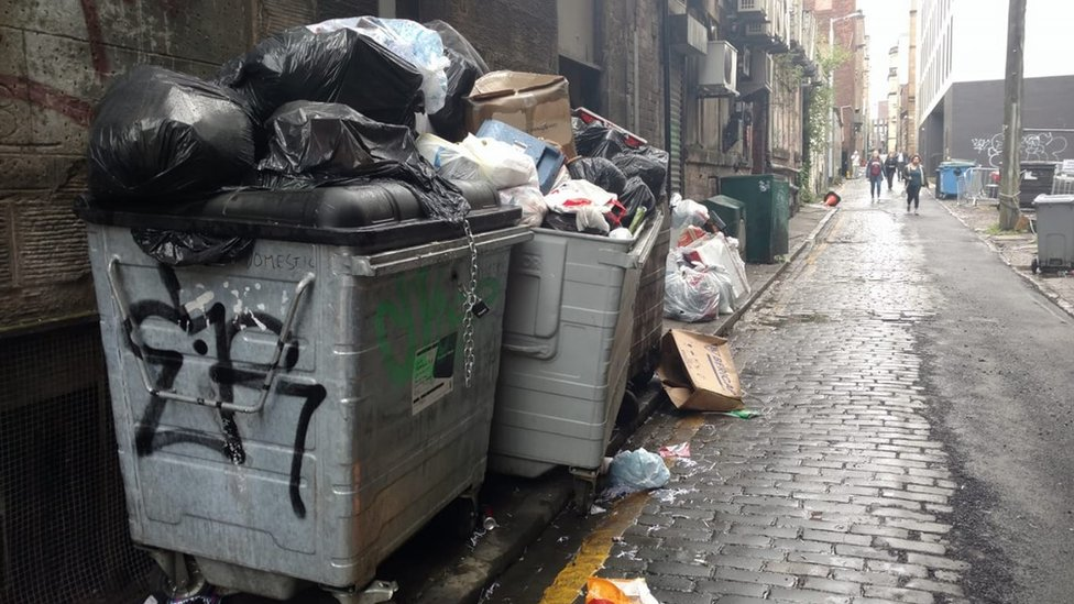 'No clean city': One woman's mission to clean up Glasgow