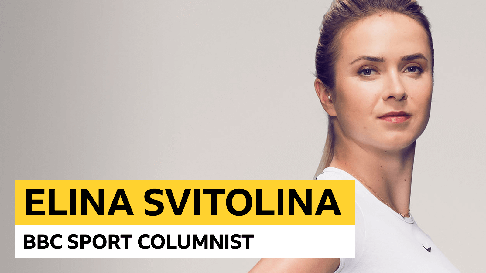 'Every match will be like a final' - Svitolina column