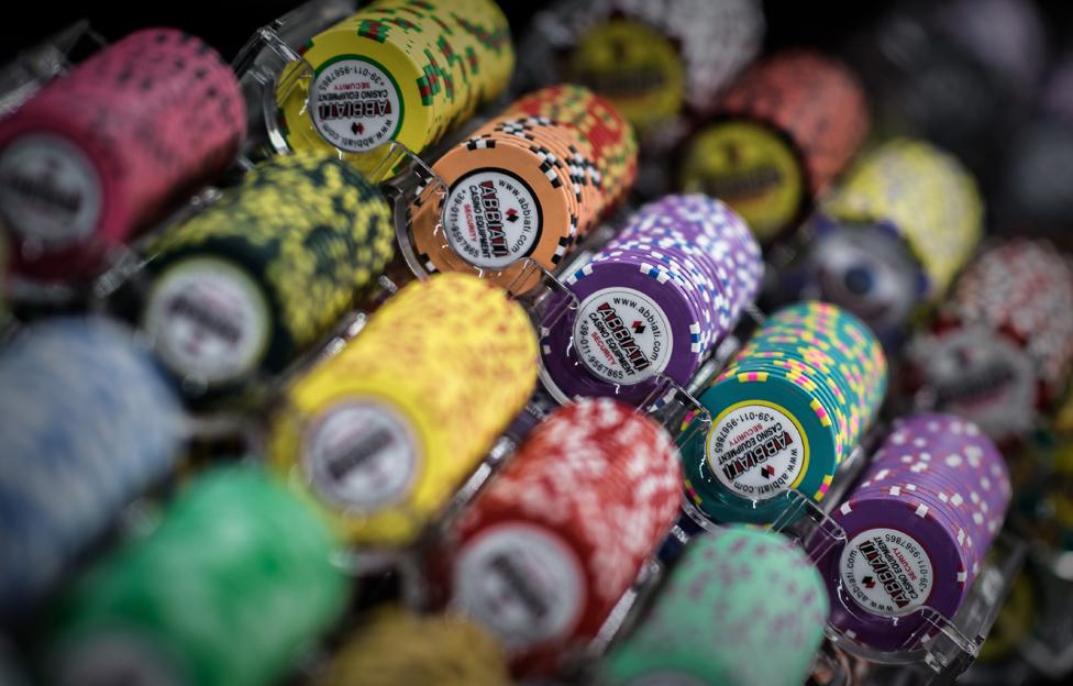 Gambling chips in Macau