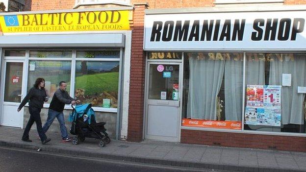 Shops in Boston, Lincolnshire