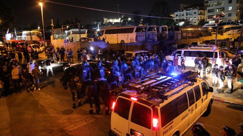Disturbios en Sheij Jarrah.