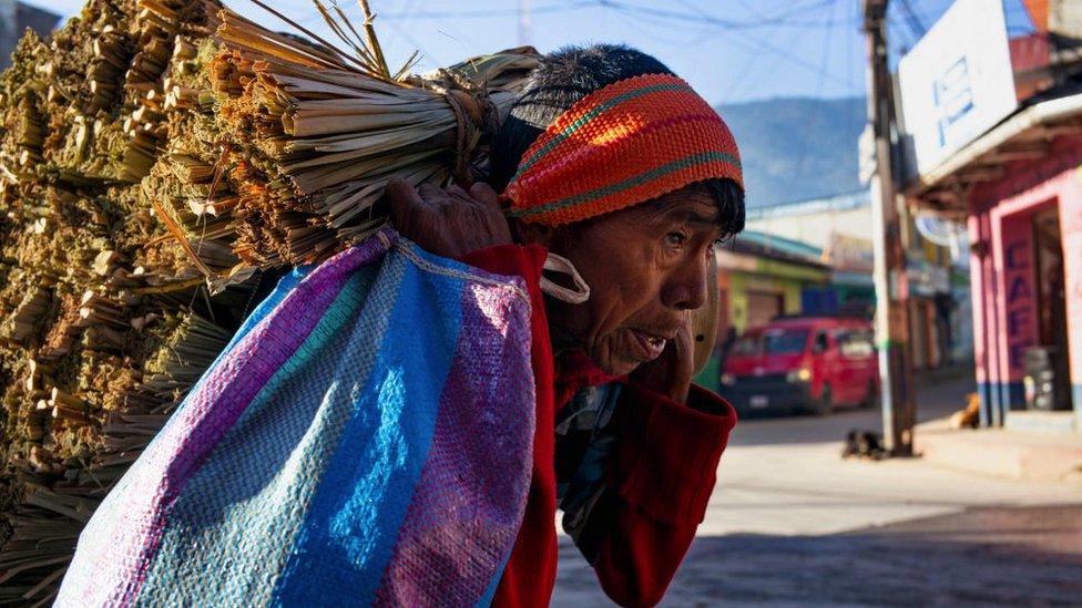 Indígena guatemalteco