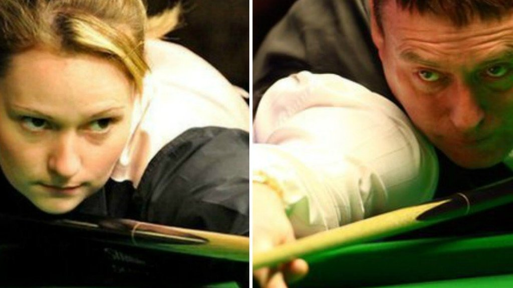 Jimmy White: Women's world champion Reanne Evans to face The Whirlwind