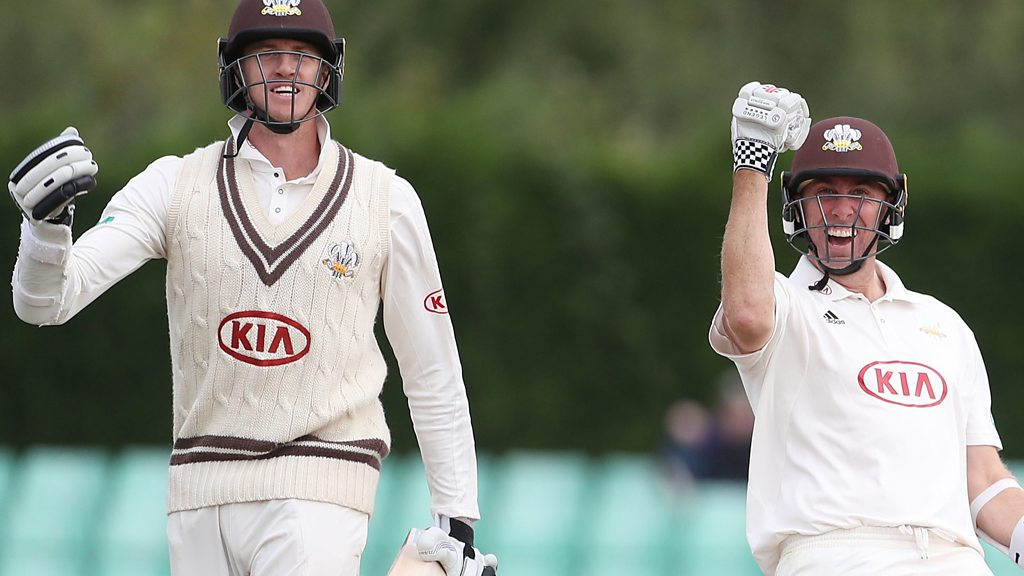 Surrey win County Championship: Listen to Morne Morkel's title-winning boundary