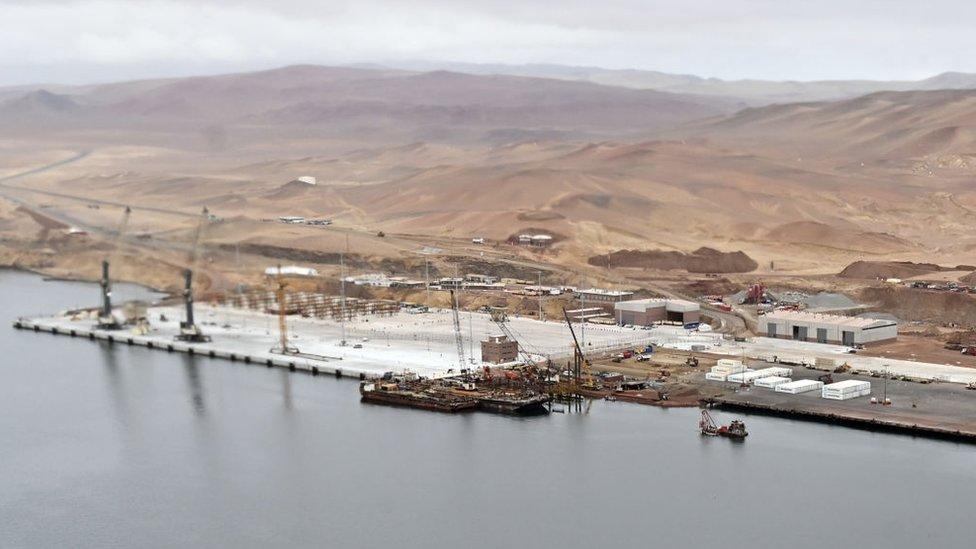 Puerto de Pisco el 10 de octubre de 2019.